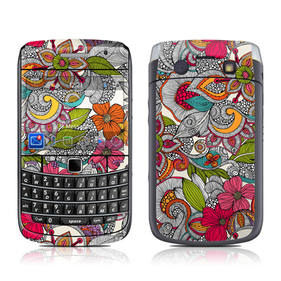BlackBerry Bold 9700 Skin - Doodles Color