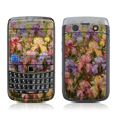 BlackBerry Bold 9700 Skin - Field Of Irises