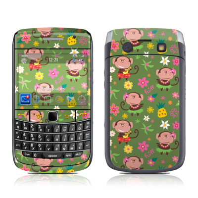 BlackBerry Bold 9700 Skin - Hula Monkeys