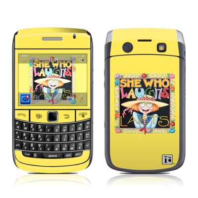 BlackBerry Bold 9700 Skin - She Who Laughs