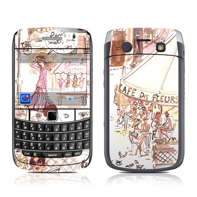 BlackBerry Bold 9700 Skin - Paris Makes Me Happy