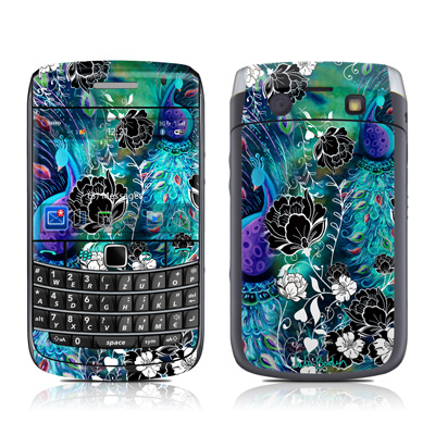 BlackBerry Bold 9700 Skin - Peacock Garden