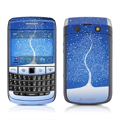 BlackBerry Bold 9700 Skin - Snowflakes Are Born