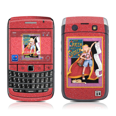 BlackBerry Bold 9700 Skin - Queen Has Spoken
