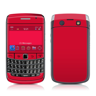BlackBerry Bold 9700 Skin - Solid State Red