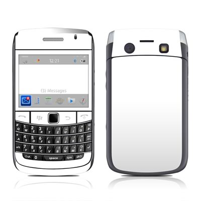 BlackBerry Bold 9700 Skin - Solid State White