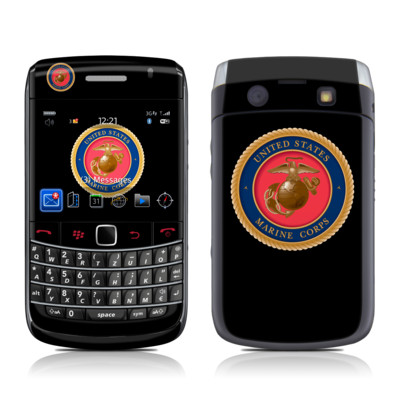 BlackBerry Bold 9700 Skin - USMC Black