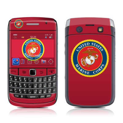 BlackBerry Bold 9700 Skin - USMC Red