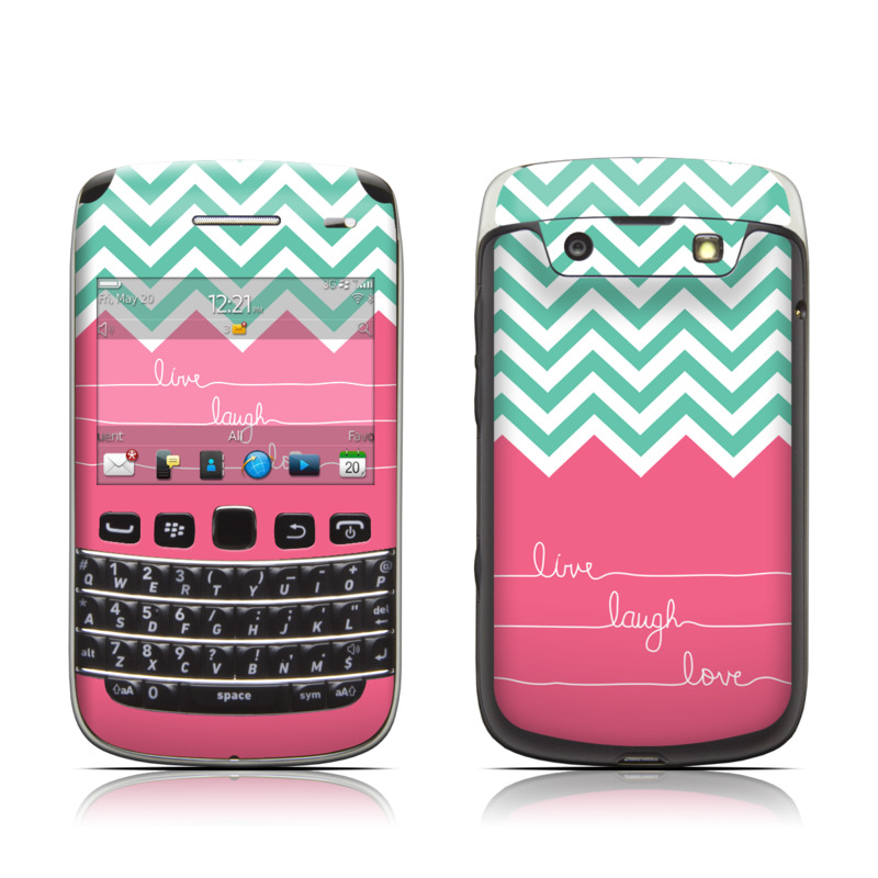 Love Wallpaper For Blackberry Bold 9700 : BlackBerry Bold 9700 Skin - Live Laugh Love by Brooke Boothe DecalGirl