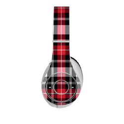 Beats Studio Skin - Red Plaid