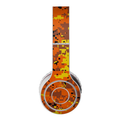 Beats Wireless Skin - Digital Orange Camo