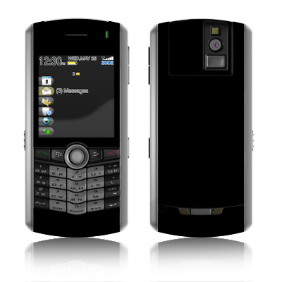 BlackBerry Pearl Skin - Solid State Black