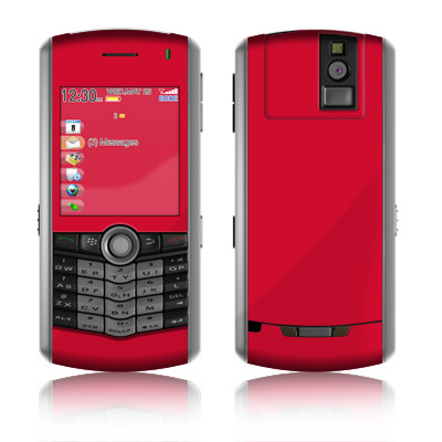 BlackBerry Pearl Skin - Solid State Red