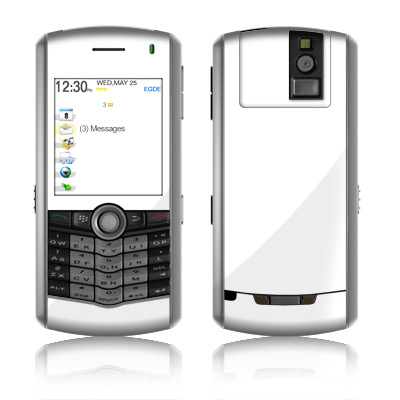 BlackBerry Pearl Skin - Solid State White