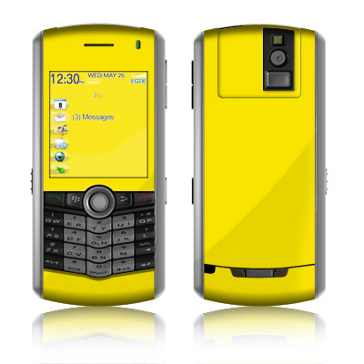 BlackBerry Pearl Skin - Solid State Yellow