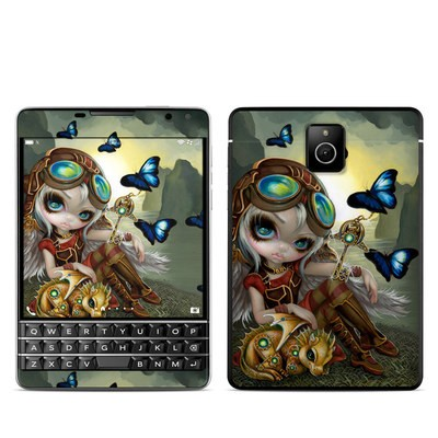 BlackBerry Passport Skin - Clockwork Dragonling