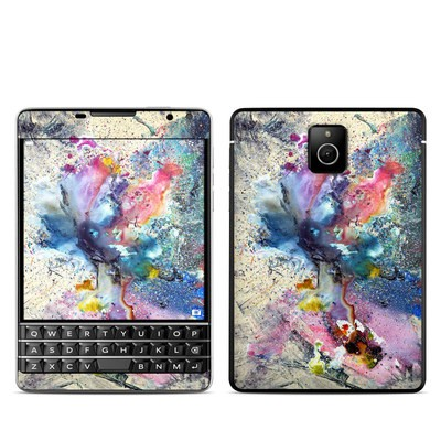 BlackBerry Passport Skin - Cosmic Flower