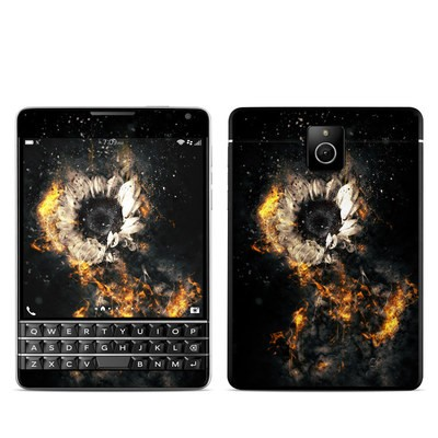 BlackBerry Passport Skin - Flower Fury