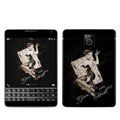 BlackBerry Passport Skin - Give Em Hell