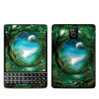BlackBerry Passport Skin - Moon Tree