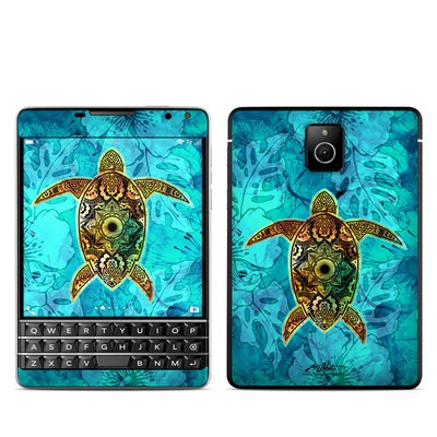 BlackBerry Passport Skin - Sacred Honu