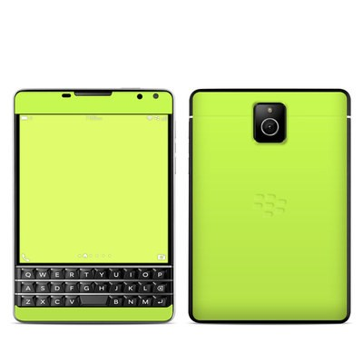 BlackBerry Passport Skin - Solid State Lime