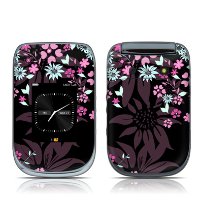 BlackBerry Style 9670 Skin - Dark Flowers