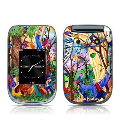 BlackBerry Style 9670 Skin - Happy Town Celebration
