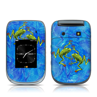 BlackBerry Style 9670 Skin - Tiger Frogs