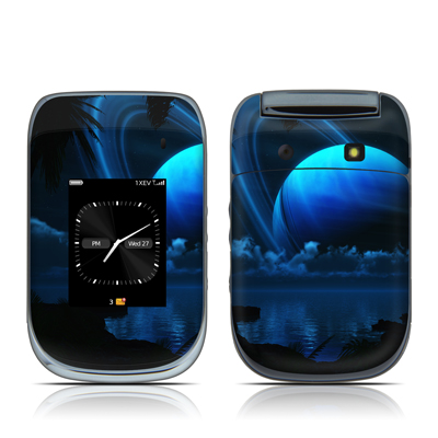 BlackBerry Style 9670 Skin - Tropical Moon