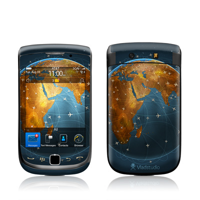 BlackBerry Torch Skin - Airlines