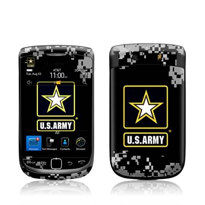 BlackBerry Torch Skin - Army Pride