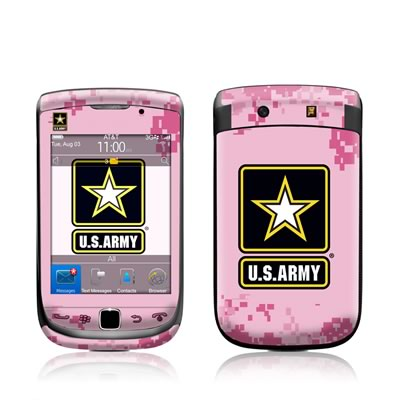 BlackBerry Torch Skin - Army Pink