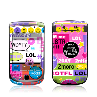 BlackBerry Torch Skin - BFF Girl Talk
