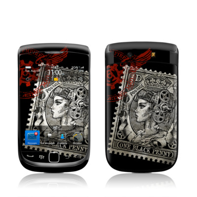 BlackBerry Torch Skin - Black Penny