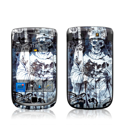 BlackBerry Torch Skin - Black Mass