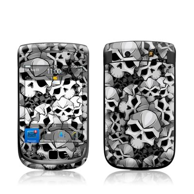 BlackBerry Torch Skin - Bones