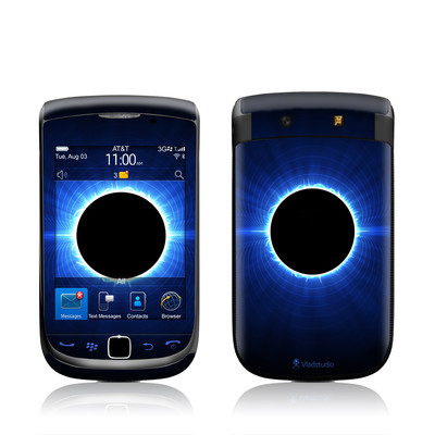 BlackBerry Torch Skin - Blue Star Eclipse