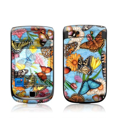 BlackBerry Torch Skin - Butterfly Land