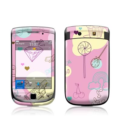 BlackBerry Torch Skin - Pink Candy