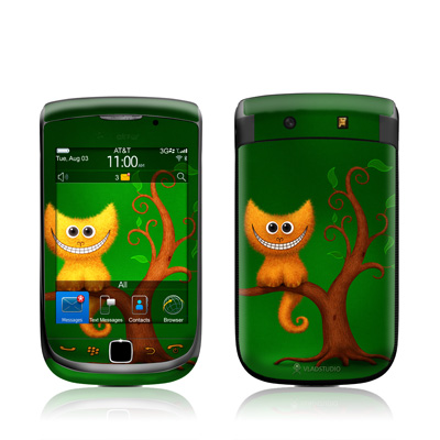 BlackBerry Torch Skin - Cheshire Kitten