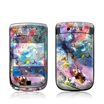 BlackBerry Torch Skin - Cosmic Flower