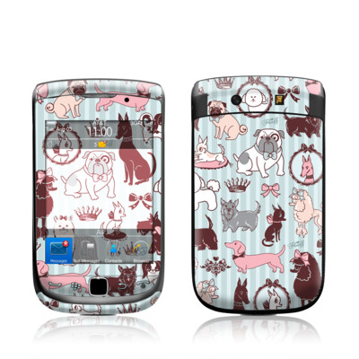 BlackBerry Torch Skin - Doggy Boudoir