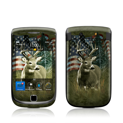 BlackBerry Torch Skin - Deer Flag