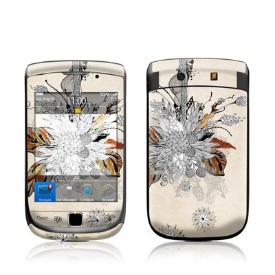 BlackBerry Torch Skin - Fall Floral