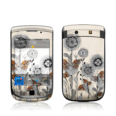 BlackBerry Torch Skin - Four Flowers
