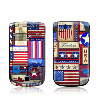 BlackBerry Torch Skin - Flag Patchwork