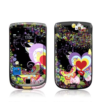 BlackBerry Torch Skin - Flower Cloud