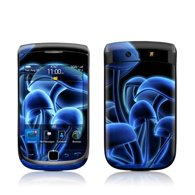 BlackBerry Torch Skin - Fluorescence Blue