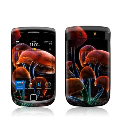 BlackBerry Torch Skin - Fluorescence Rainbow